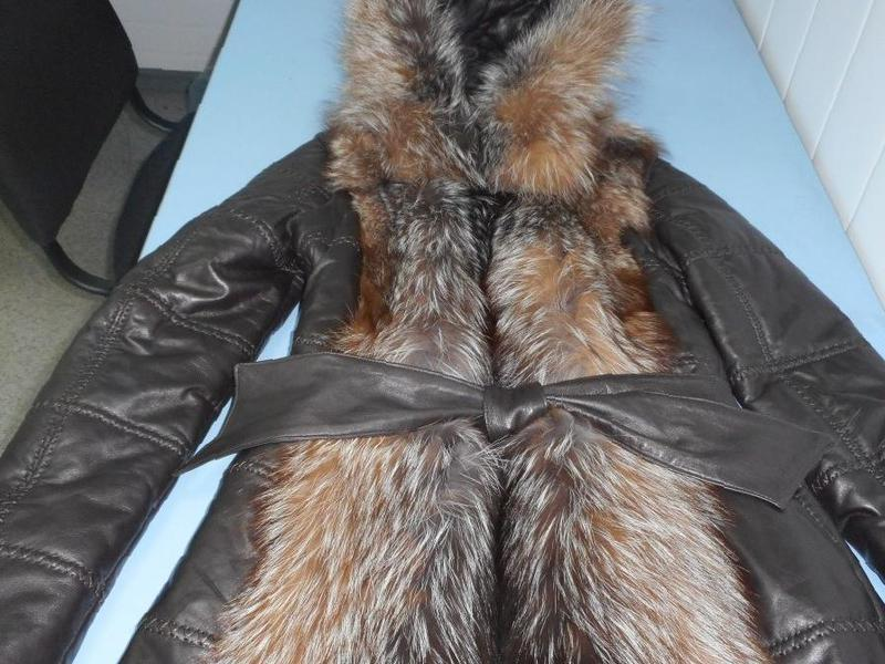f6c612c03ec Фото  Купить куртка-жилетка кожаная женская(langiotti ) италия в  Березниках