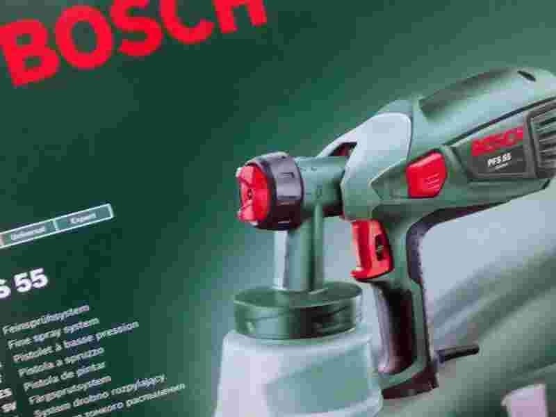 Ремонт краскопульта bosch pfs 55 своими руками 83