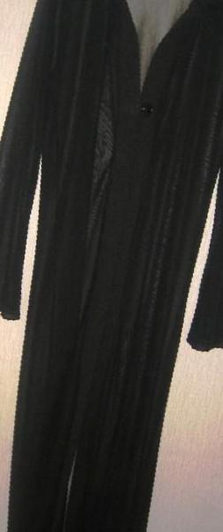 b59b1a270cd Фото  Купить длинная черная прозрачная накидка с платьем в Ставрополе