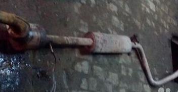 глушитель рено меган 2 фото