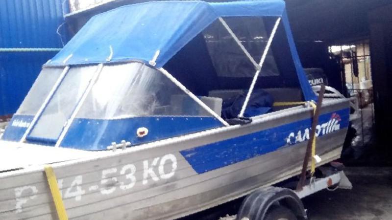 прицепы для лодки салют 480