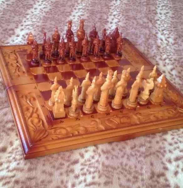 купить шахматы ручной работы в каменске уральском цена 3000 рублей