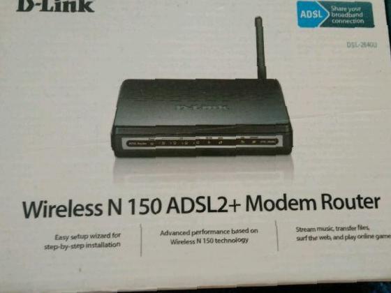 D-LINK DSL 2640 U Router Configuration Guide