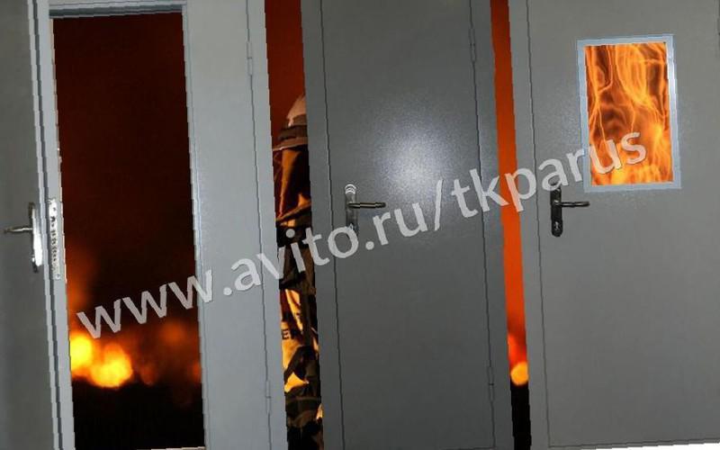 двери огнеупорные входные