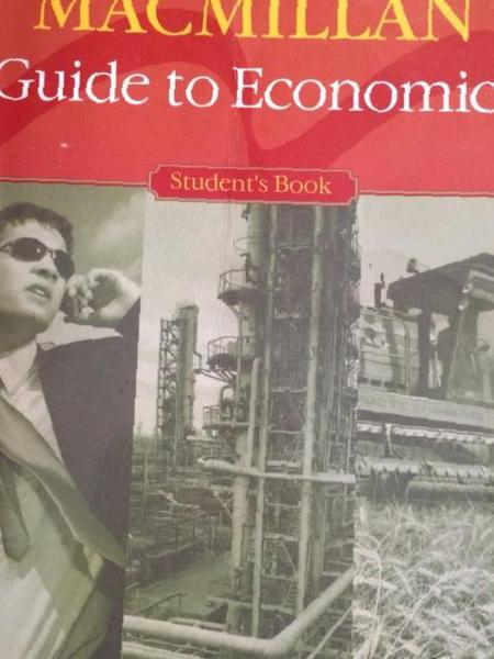 macmillan guide to economics решебник
