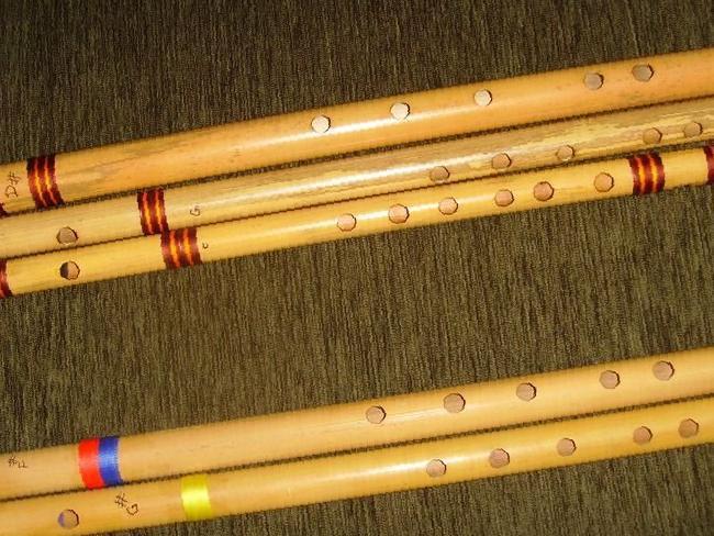 Флейта бансури своими руками