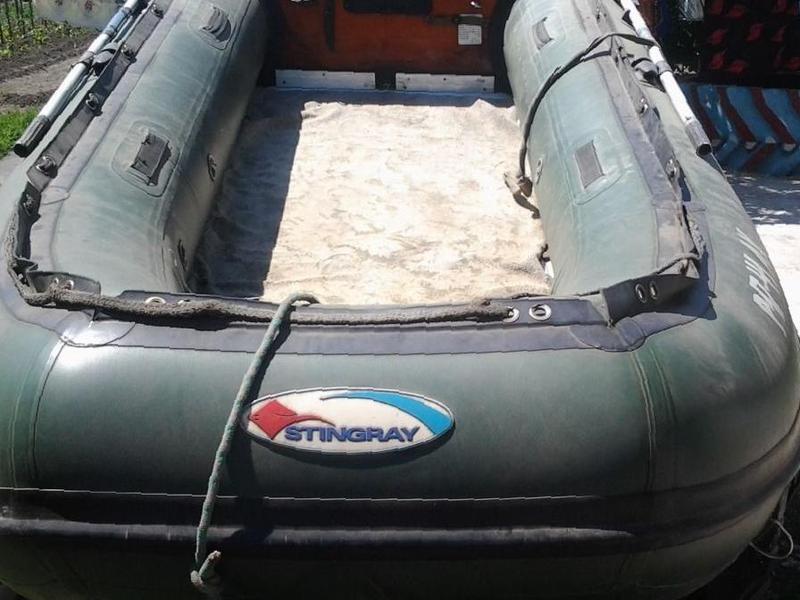 лодки из пвх стингрей сузумар