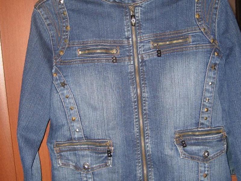 Фото  Купить женская джинсовая куртка в Костроме — объявление 96d8c93509f