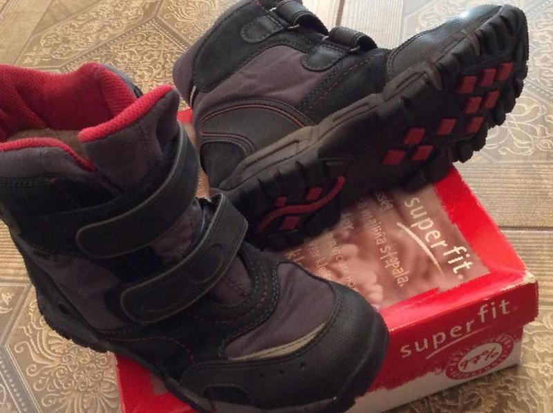 5f447e8a8 Фото: Купить зимние ботинки Superfit для мальчика в Томске, цена 2000  рублей — объявление