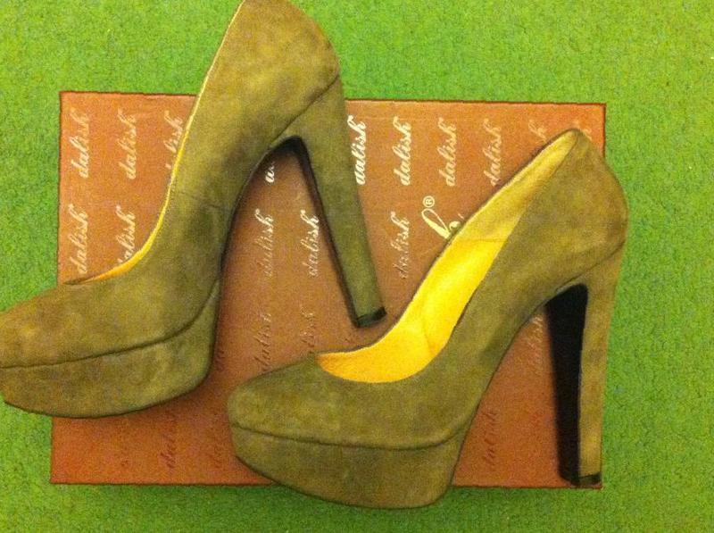 acbf43346 Фото: Купить туфли на платформе замша новые в Таганроге — объявление