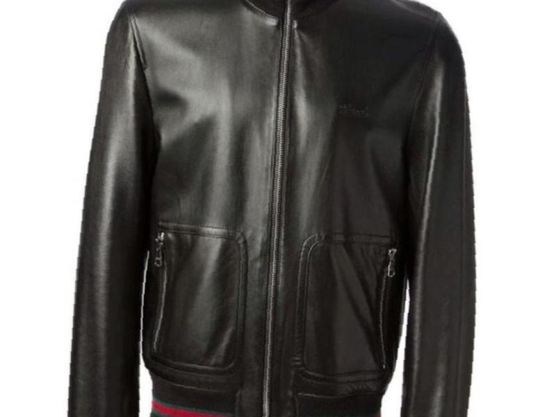 6325f1154585 Фото  Купить кожаная куртка gucci оригенал в Ставрополе — объявление